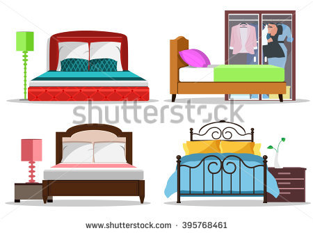 450x335 Bedroom Clipart Made Bed