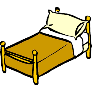 300x300 Bedroom Clipart Single Bed