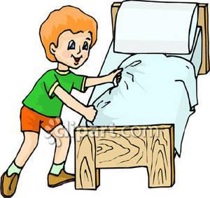300x283 Clean Bedroom Clipart