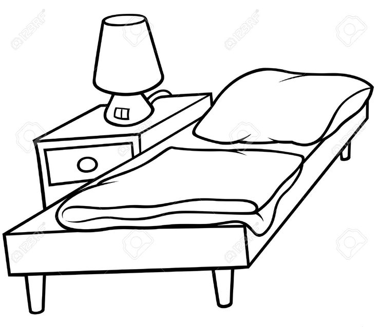 736x638 Blanket Clipart Clean Bed