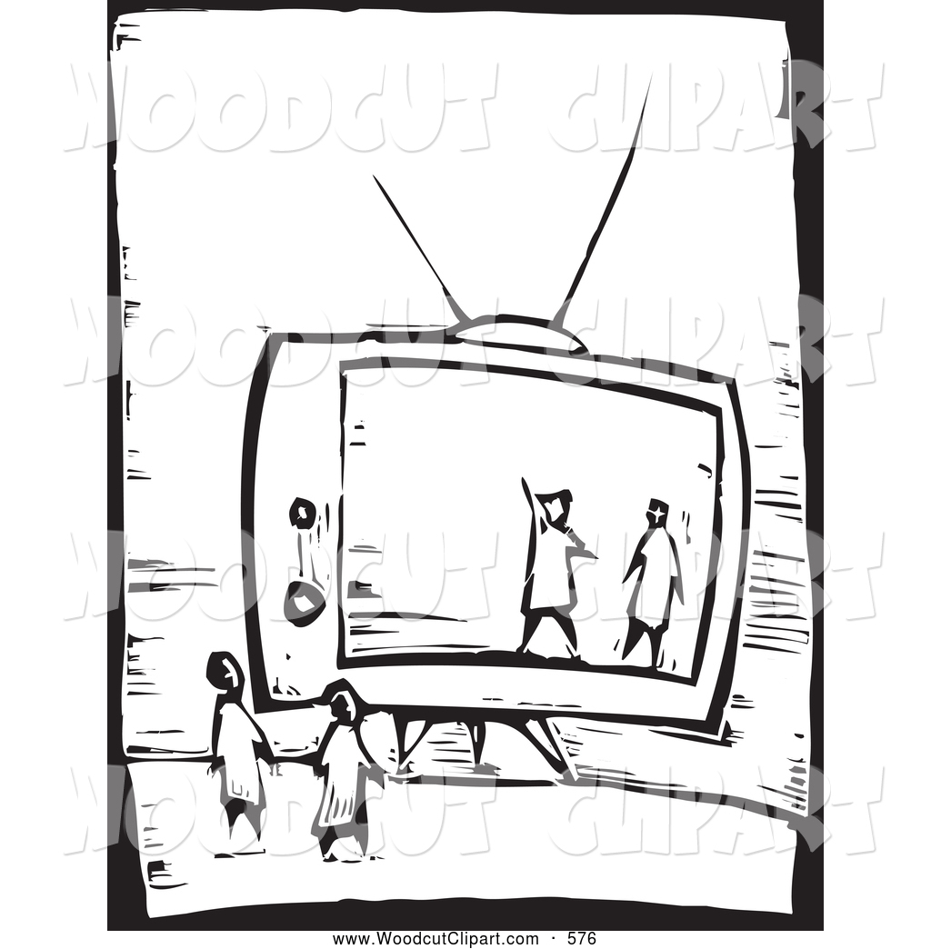 1024x1044 Watching Tv Clipart Black And White Clipart Panda