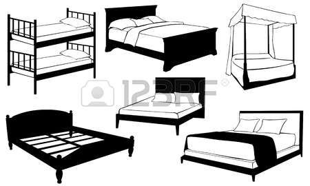 450x270 Furniture Clipart Black And White