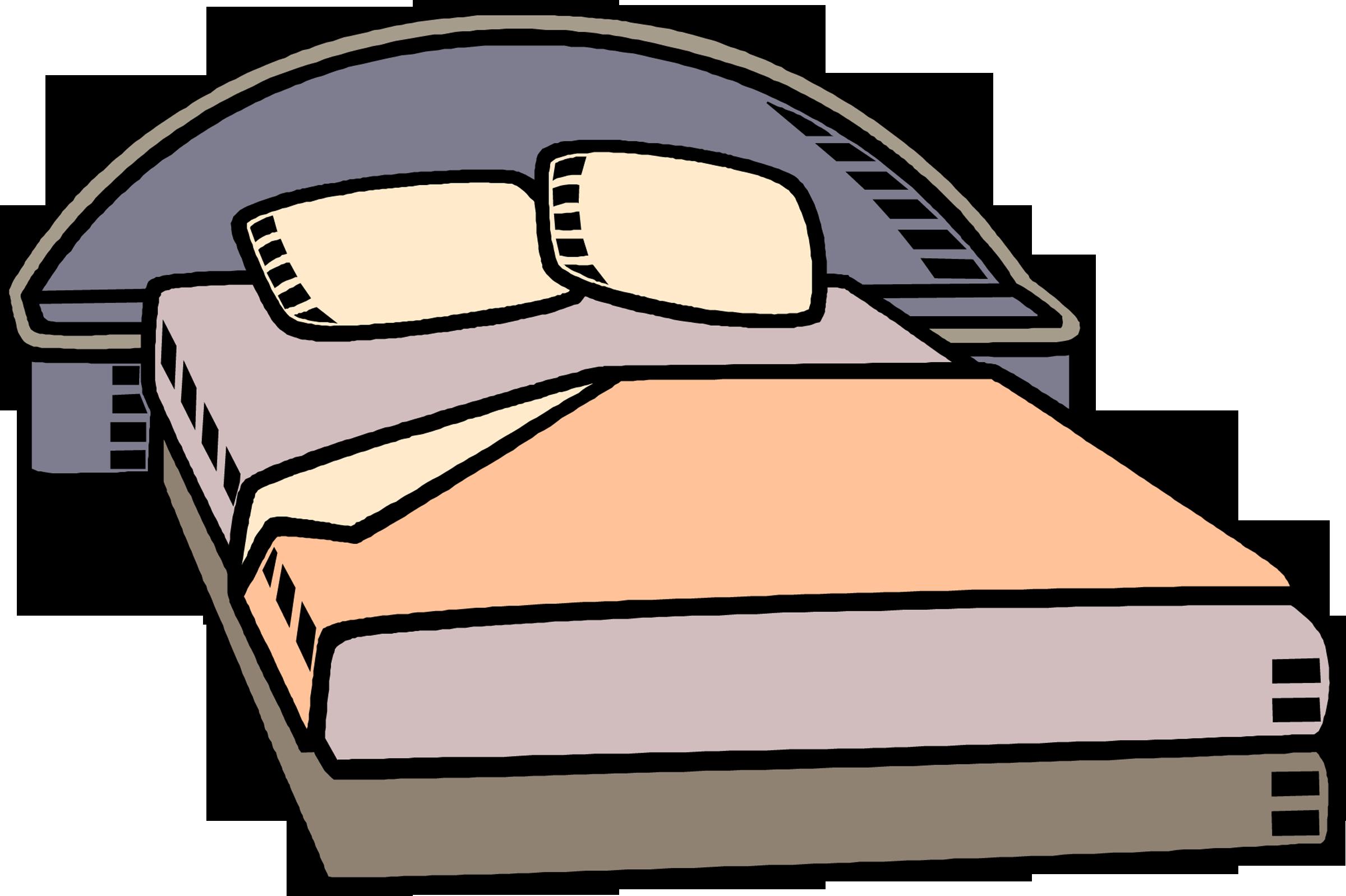 2400x1598 Bed Clip Art Clipart Free Microsoft 3 2