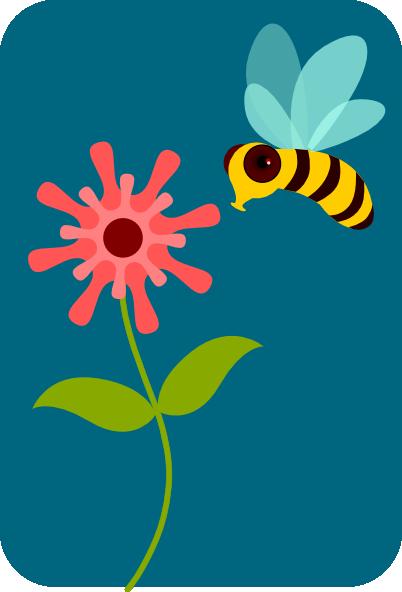 402x592 Bee Clip Art