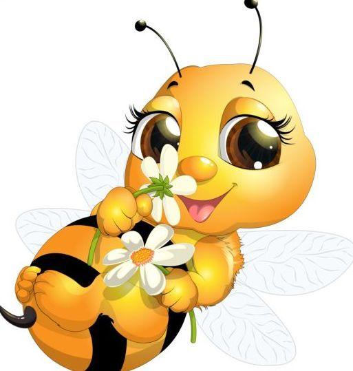 513x539 Best 25+ Cartoon bee ideas Bumble bee cartoon, Boy