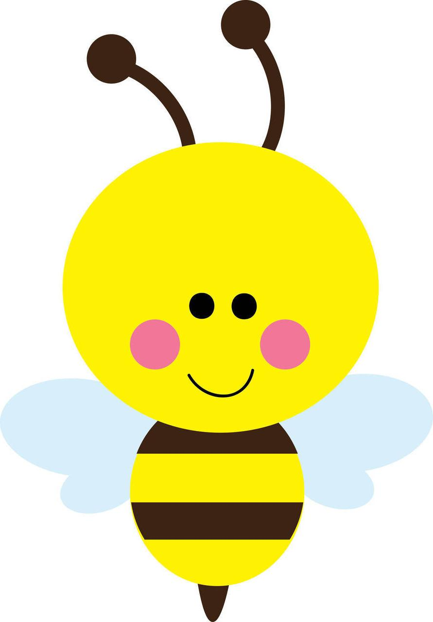 891x1280 Unique Bumble Bee Cute Clip Art Love Bees Cartoon More Cdr