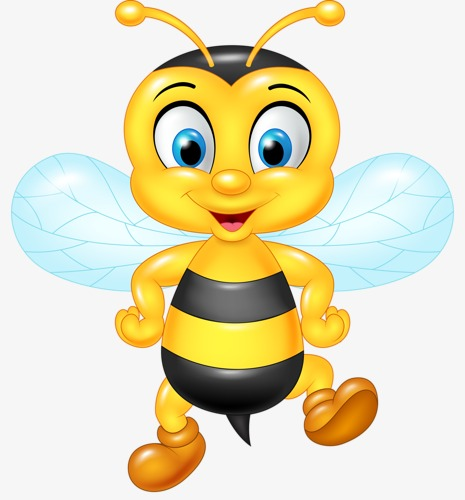 465x500 Bee, Cartoon, Animal, Doll Png Image For Free Download