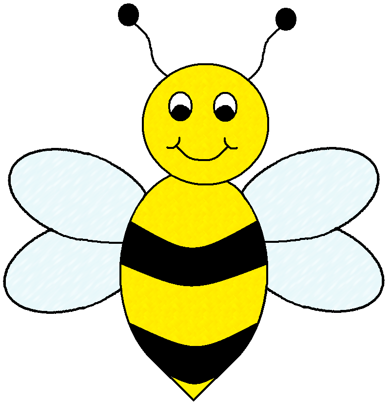 804x857 Clip Art Bees