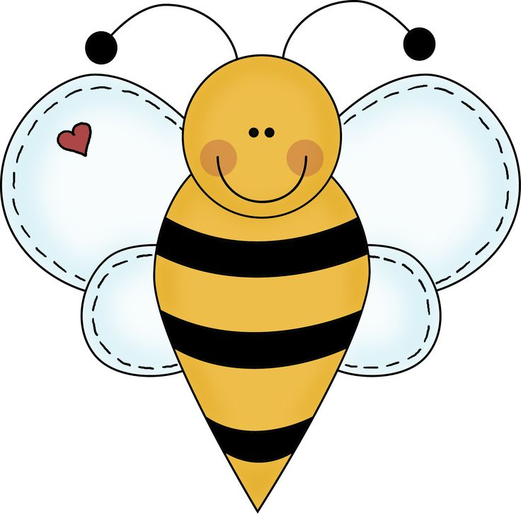 736x726 Cool clipart bee