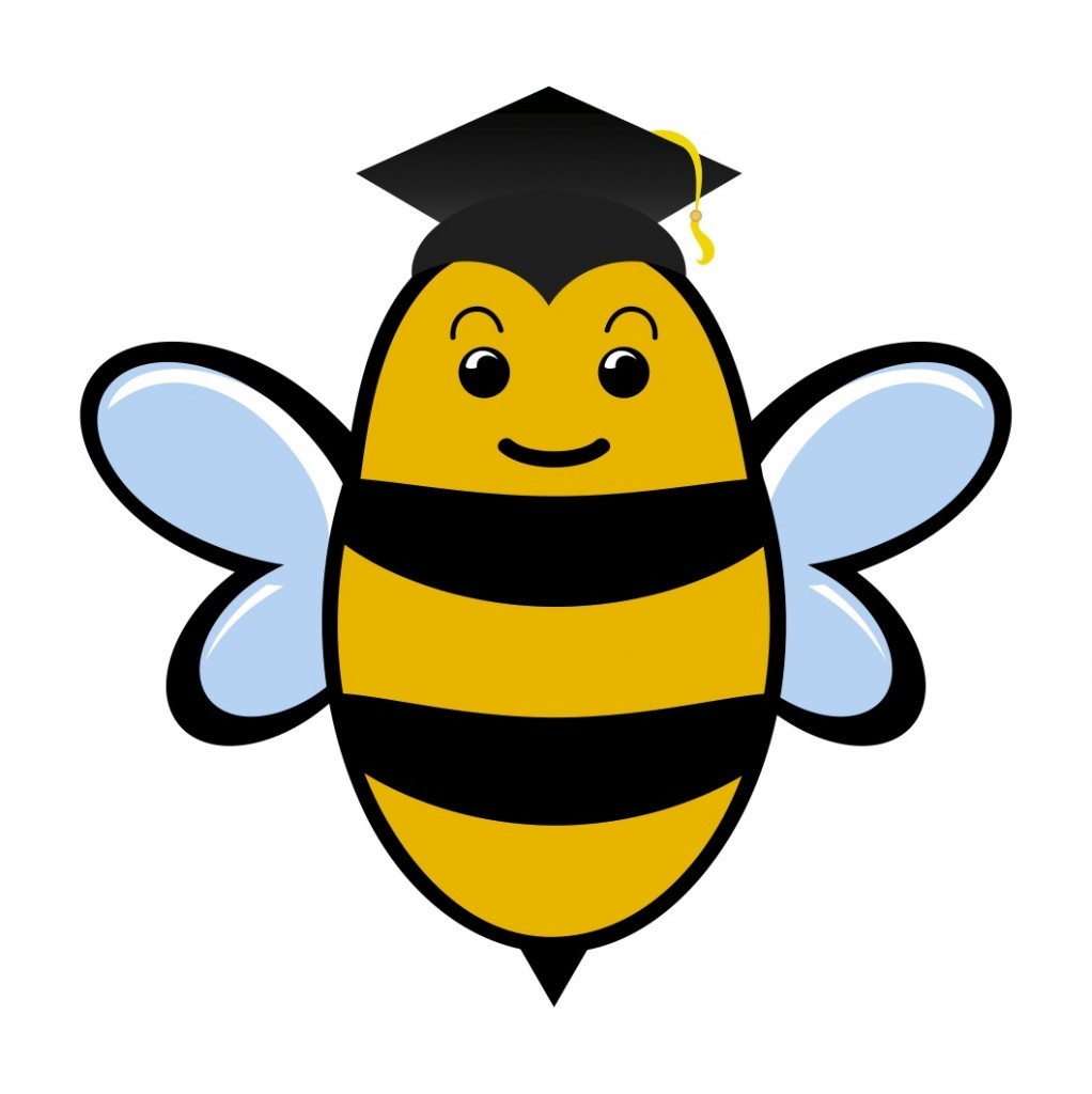 1022x1024 Free bee clipart