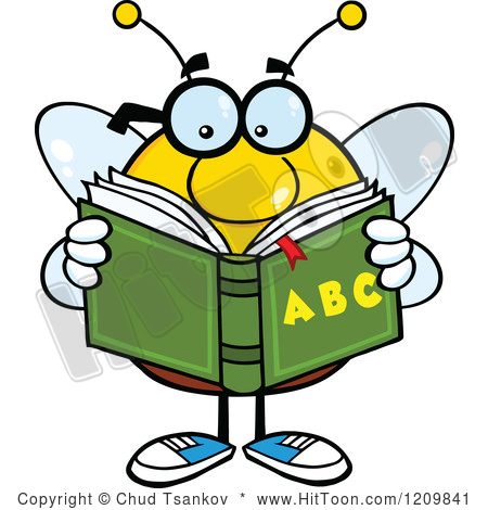 450x470 Bee Clipart Reader