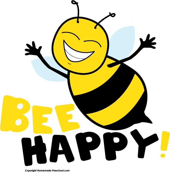 558x566 Bee Clipart Singing Bee