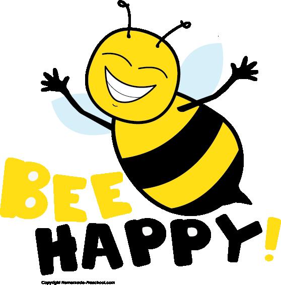 558x566 Bee Clipart Singing Bee