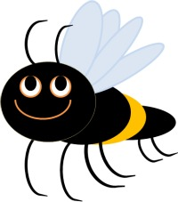 200x227 Free Bumble Bee Clip Art Pictures