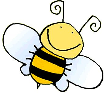 342x305 Cute bumble bee clip art clipart image