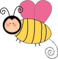 232x236 Bee Clip Art