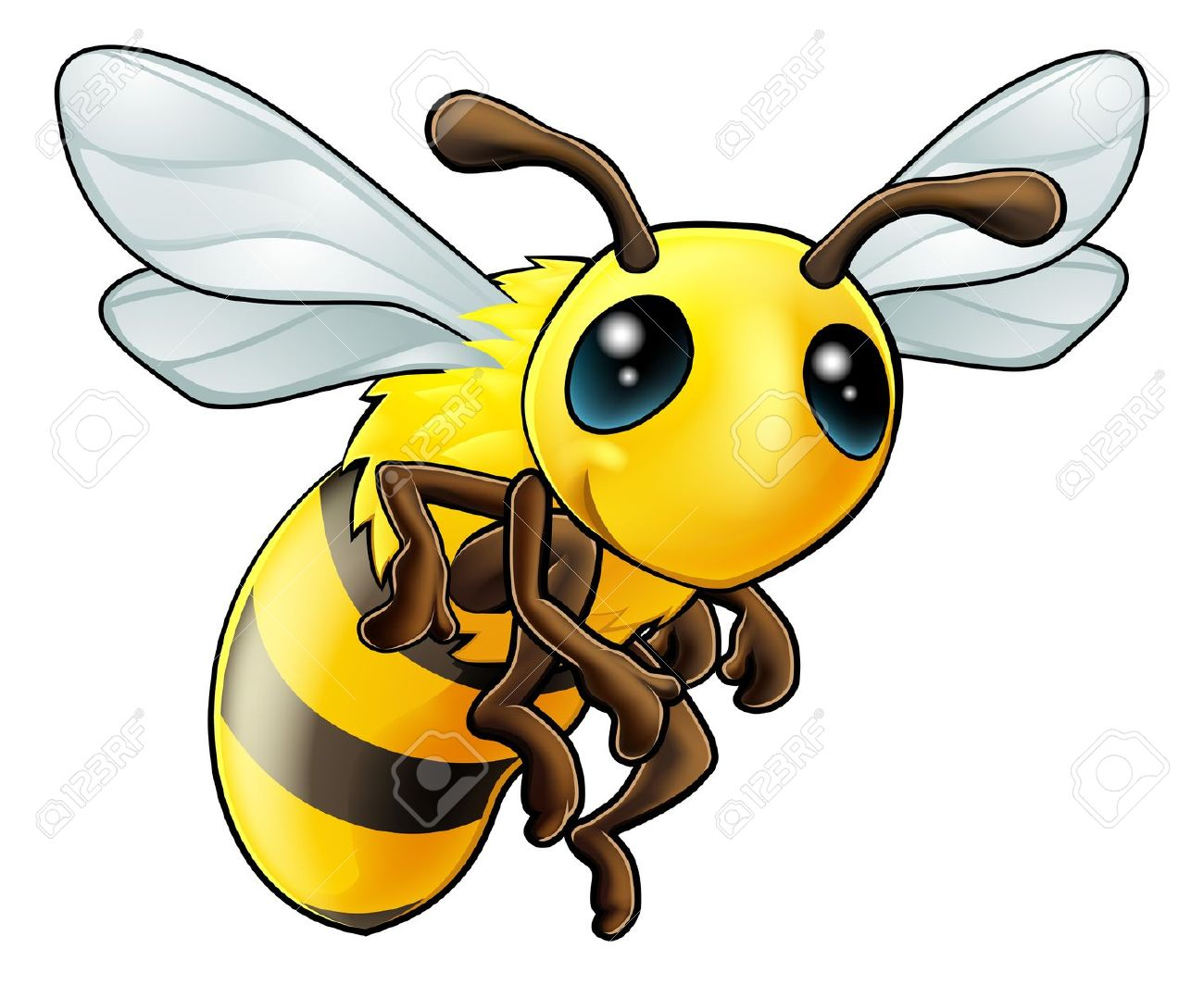 1300x1065 Bee Drawing Clipart