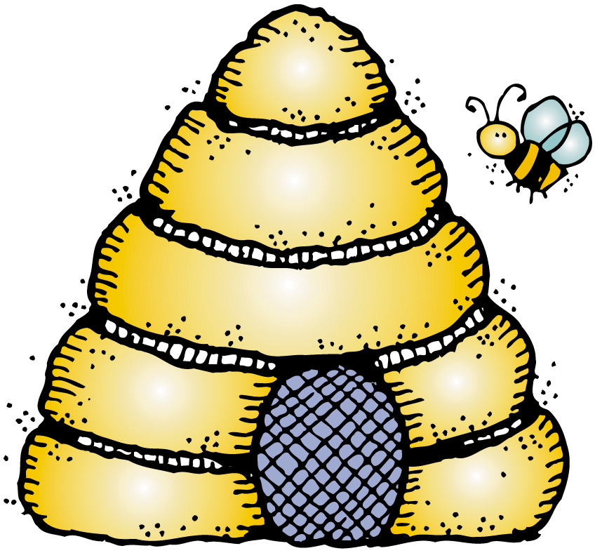 848x788 Beehive Gallery For Bee Hive Clip Art Image