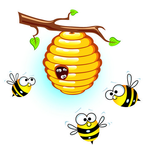 476x500 115 Best Honey Bees (Abeilles) Clip Art Images
