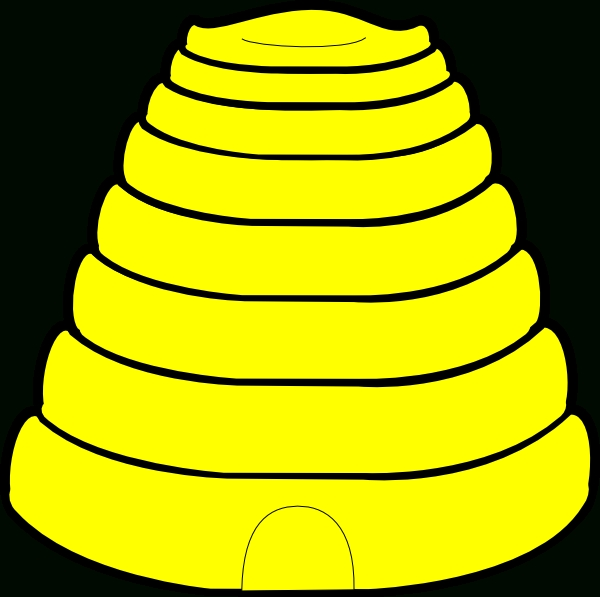 600x597 Top 10 Beehive Images Clip Art