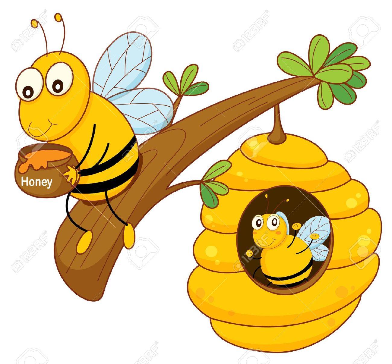 1300x1208 Bee Hive Clipart Comb