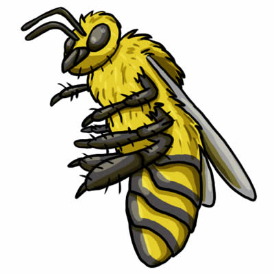 400x400 Bee Clipart Image 3