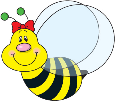 402x354 Clipart Bees