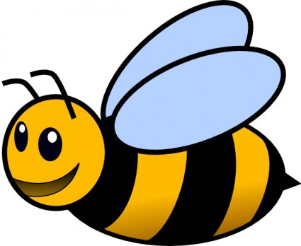 425x348 Free Bee Clip Art Pictures
