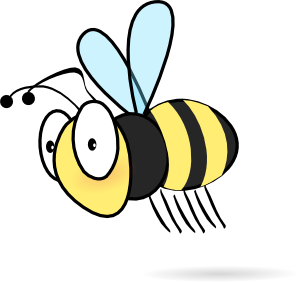 300x282 Bee Clip Art