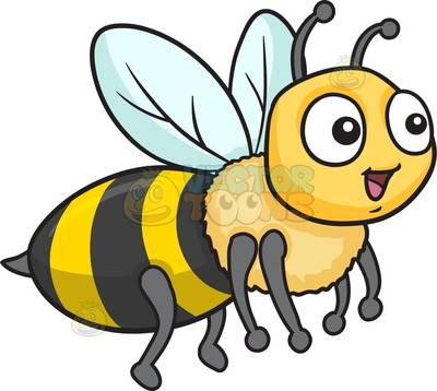 400x358 Bee Clipart