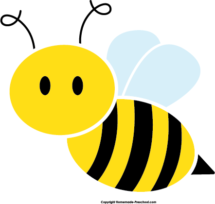 442x420 Free bee clipart