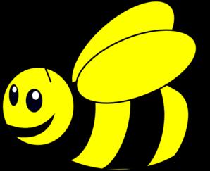 298x243 Bumble Bee Yellow Clip Art
