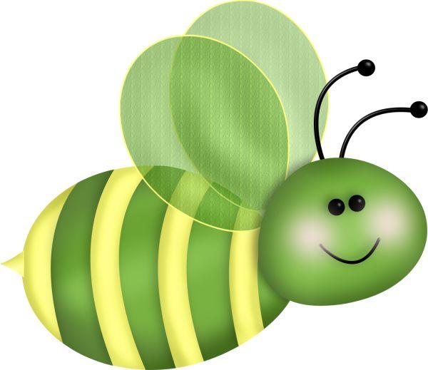 600x519 Inchworm clipart bee
