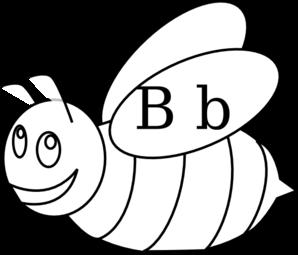 298x255 Bumble Bee Outline Clip Art