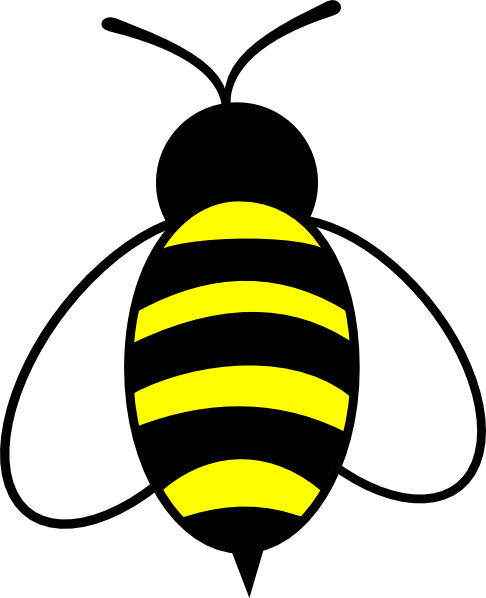486x598 Bee Clip Art
