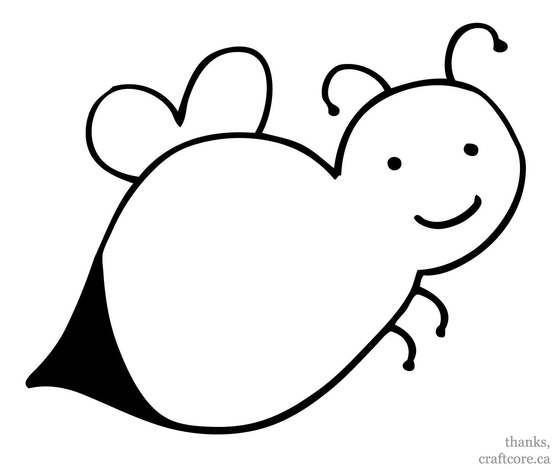 1500x1265 Drawn Bees Toddler
