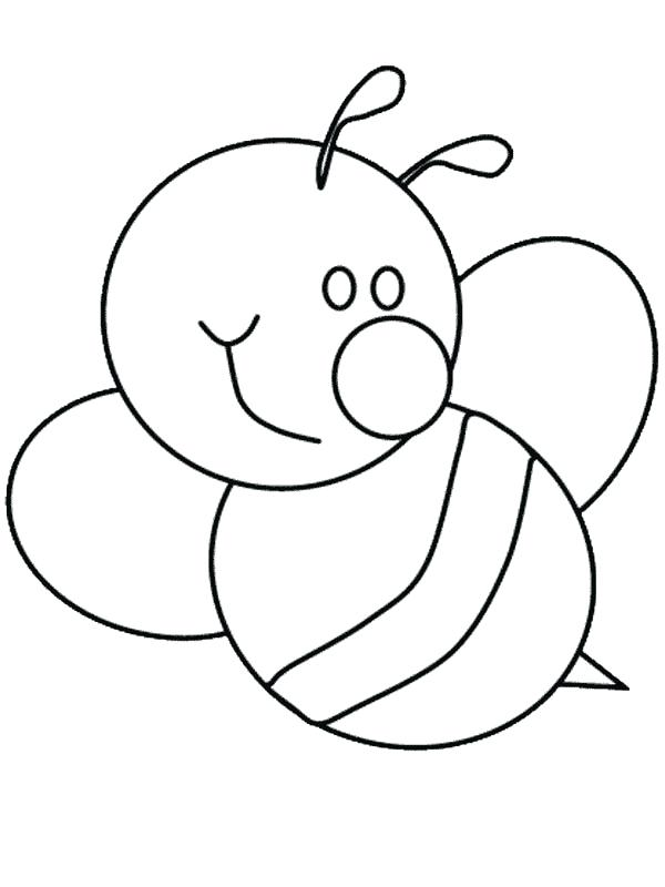 600x800 Awesome Stunning Bumble Bee Outline New Kids Coloring