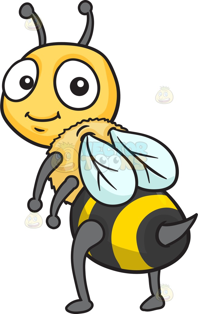 645x1024 Bee Clipart Six