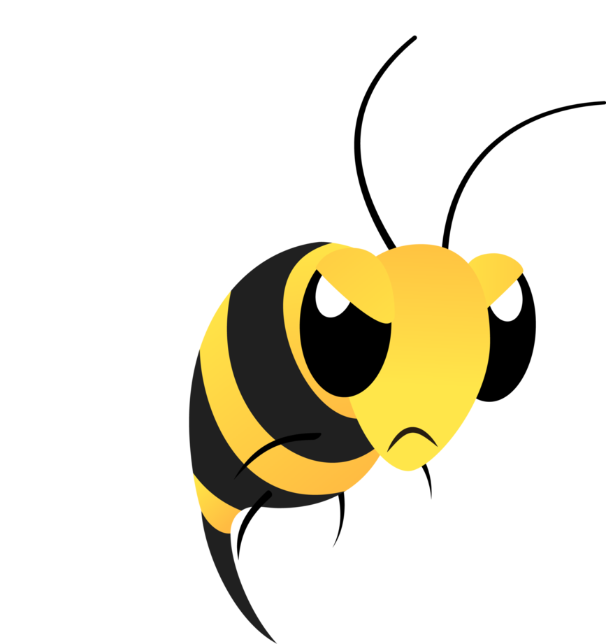 867x921 Mlp Resource Angry Bee By Lahirien