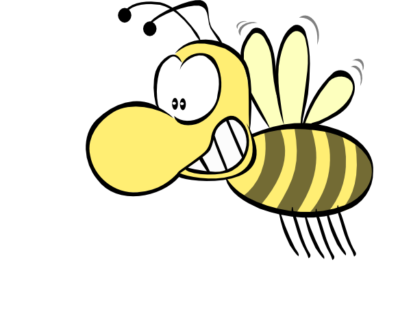 600x452 Spelling Bee Clipart Black And White Free 2