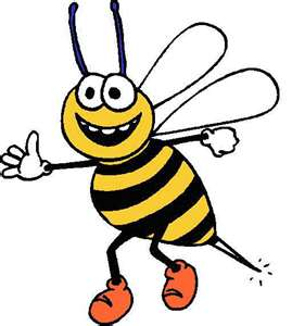 269x300 Busy Bee Clipart
