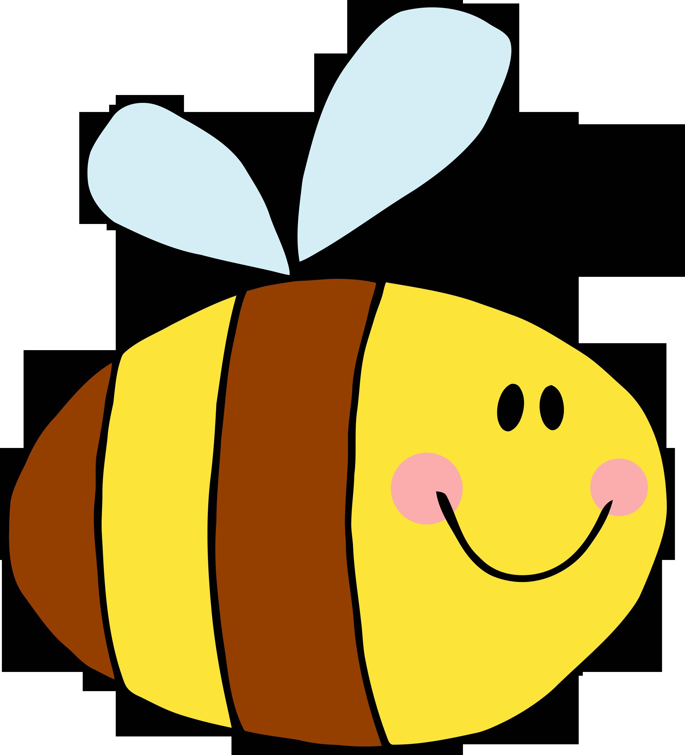2178x2400 Cute Bee Clipart