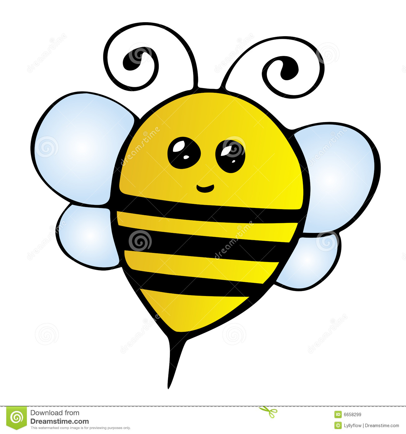 1300x1390 Bee Clipart