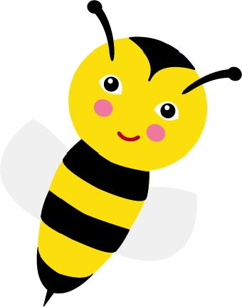 340x430 Clip Art Hoard Honey Bee Clipart Clipartbold