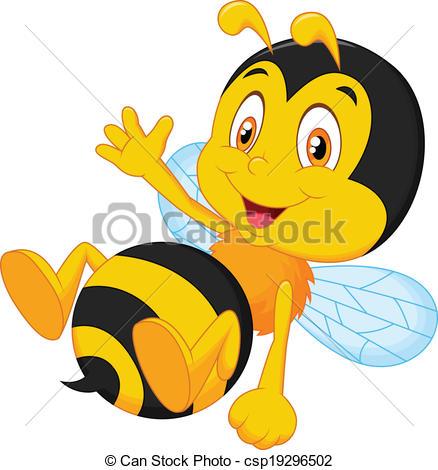 438x470 Bee Clipart