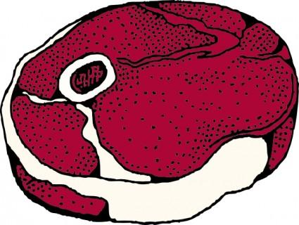 425x320 Leg Steak Clip Art Free Vector In Open Office Drawing Svg