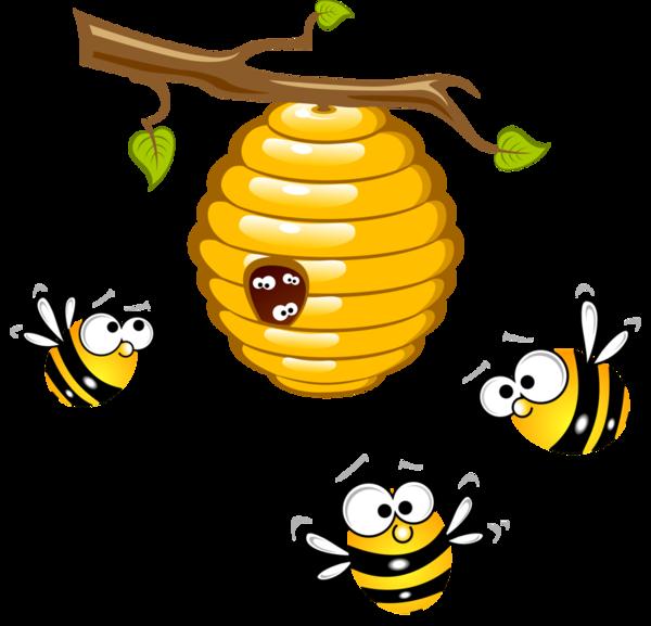600x577 Abeilles,png Honey Bees (Abeilles) Clip Art Bees