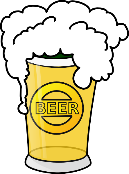 Beer Cartoon Clipart