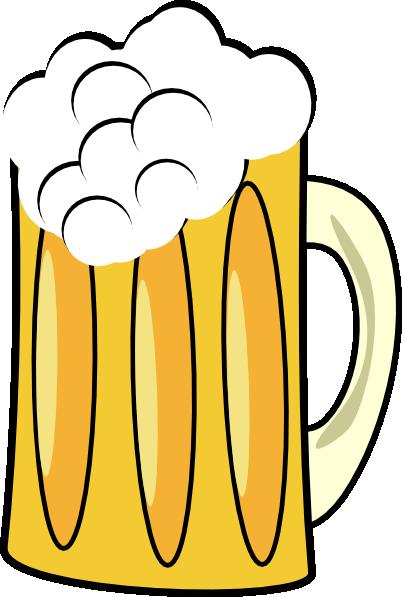 402x597 Beer Cup Mug Clip Art Free Vector 4vector