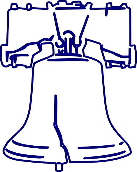 470x588 Bell Clipart Liberty Bell